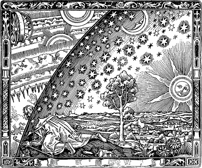 Flammarion houtsnede